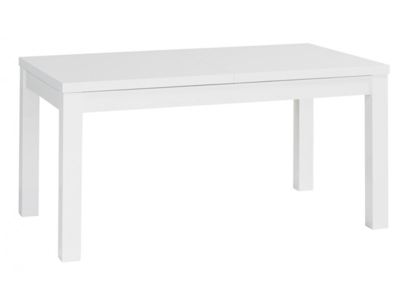 Table avec allonge URBANA 3 Blanc