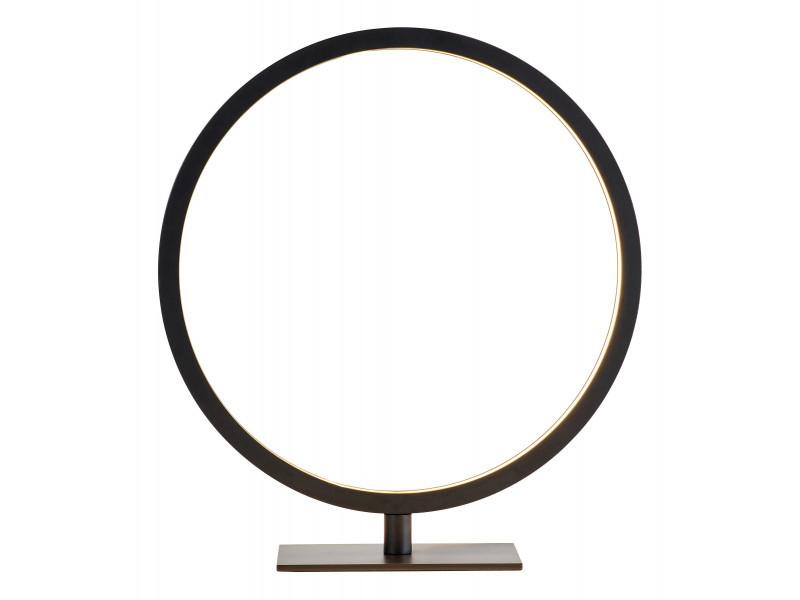 Lampe à poser CIRCLE Noir mat