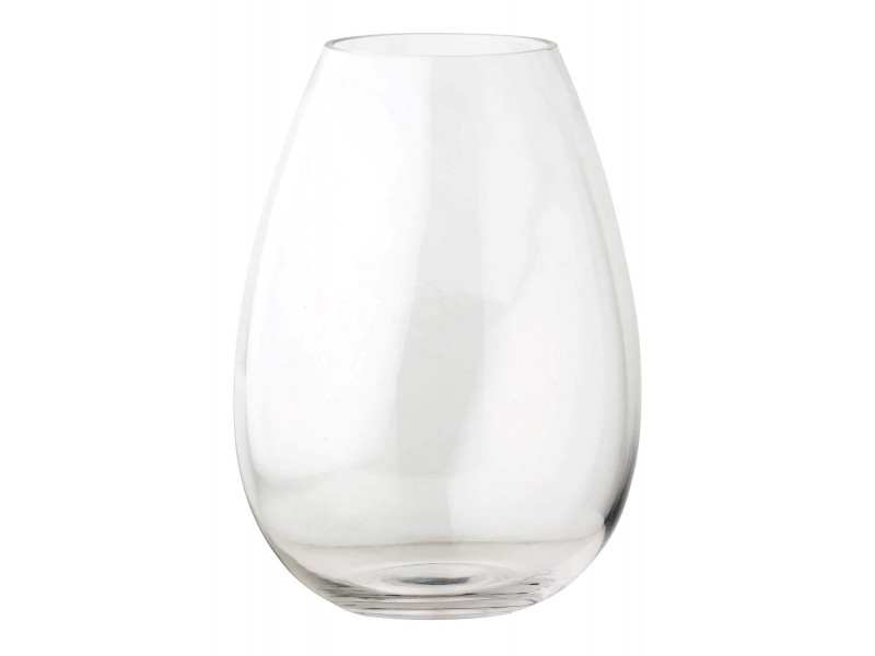 Vase en verre H. 24 cm EDEN Transparent