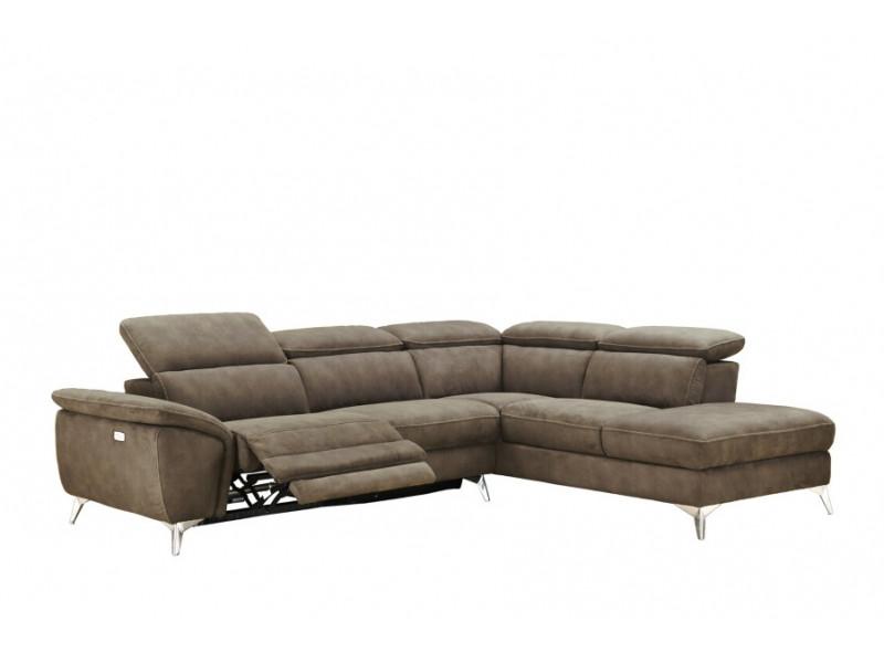 Canapé angle droit relax électrique...