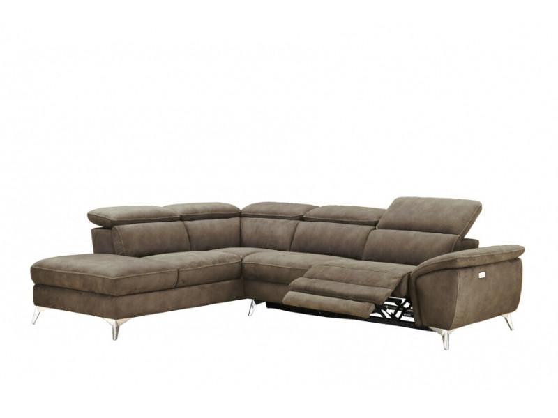 Canapé angle gauche relax électrique...