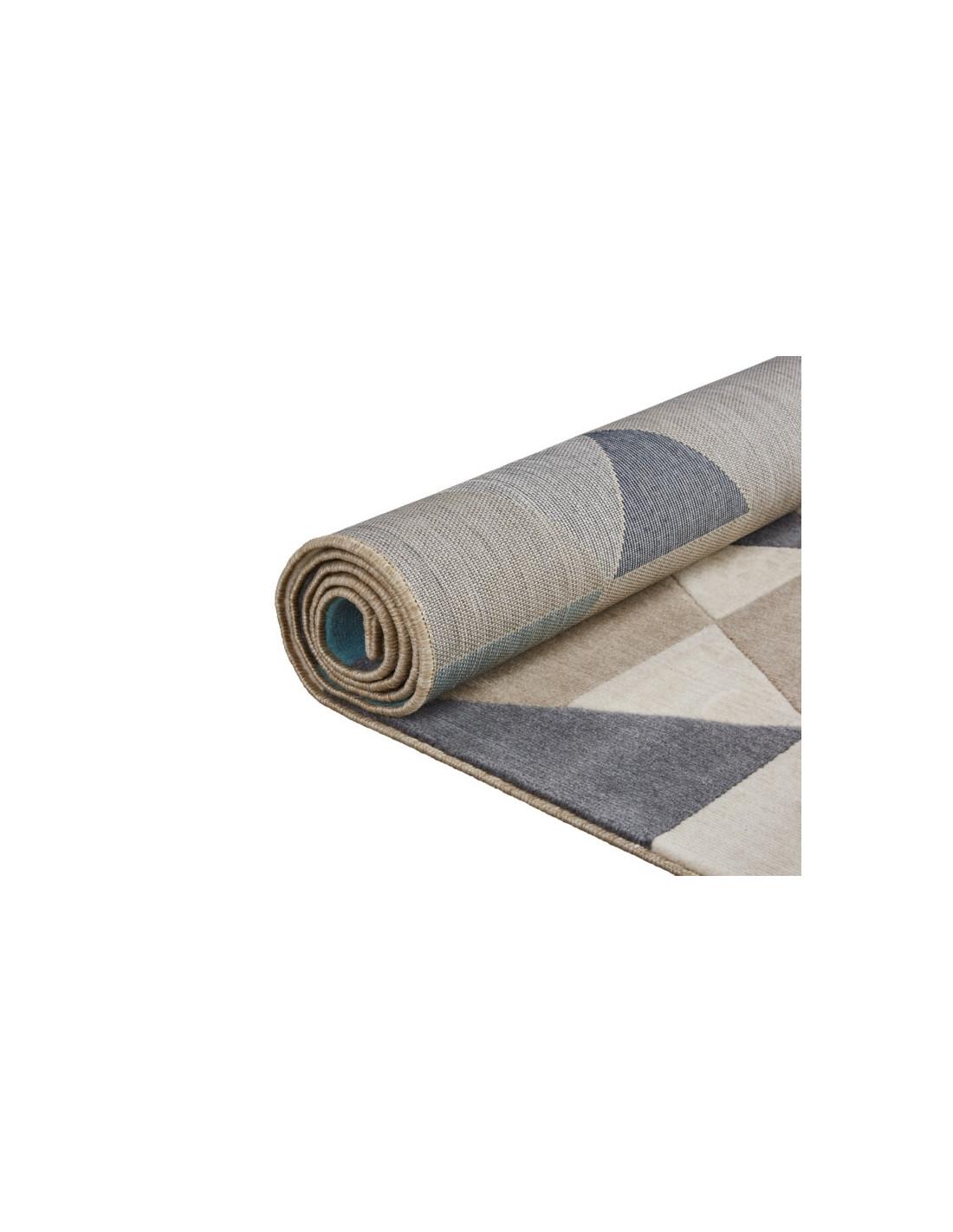 tapis 160x230 cm scandi gris tapis